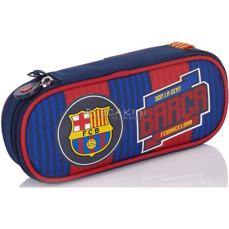 c11c9b790aba0 Piórnik   saszetka z serii FC Barcelona w pasy dla chłopca