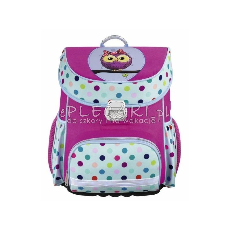 945b6b44cee79 Lekki tornister szkolny Hama Sweet Owl Sowa dla dziewczynki