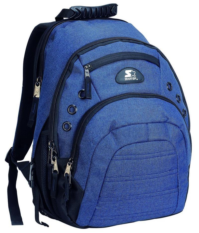 a0ce43af8335c Plecak młodzieżowy dla chłopaka STARTER 0091 granatowy na laptop