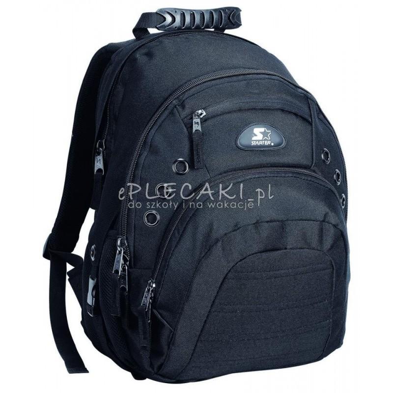 35eedb521293f Plecak młodzieżowy dla chłopaka STARTER 0091 czarny na laptop