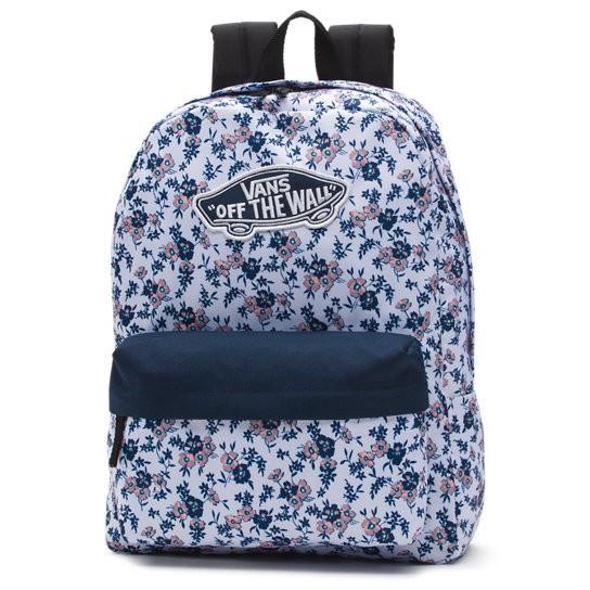 Plecak miejski Vans White Ditsy w polne kwiaty