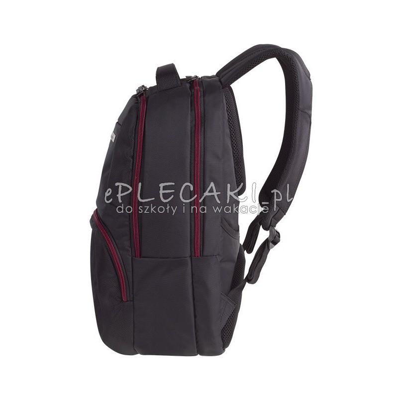 44f6dda8daa85 Plecak biznesowy CoolPack CP Citizen Black biznesowy męski czarny