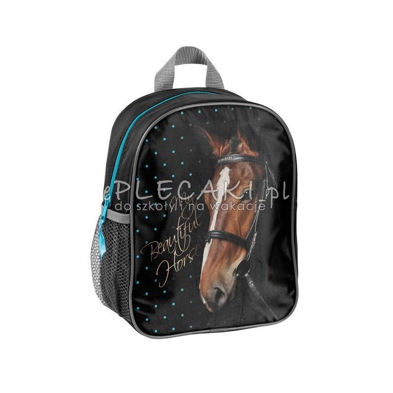 c54215a976a2a Plecaczek przedszkolny Paso Horse czarny z koniem - ePlecaki do ...