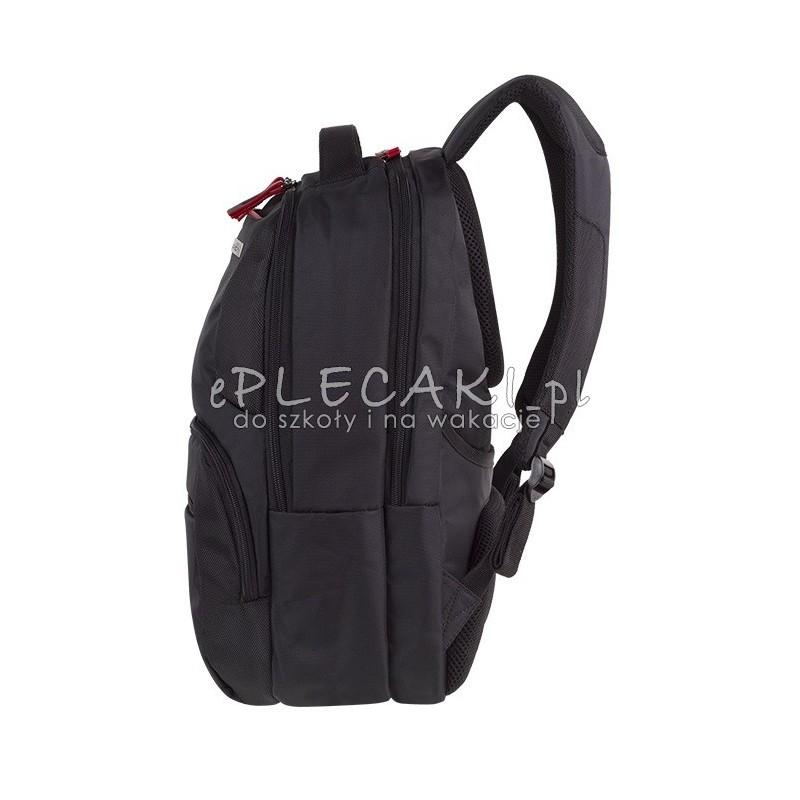 325f86be9e09a Plecak biznesowy CoolPack CP Zenith Black biznesowy męski czarny