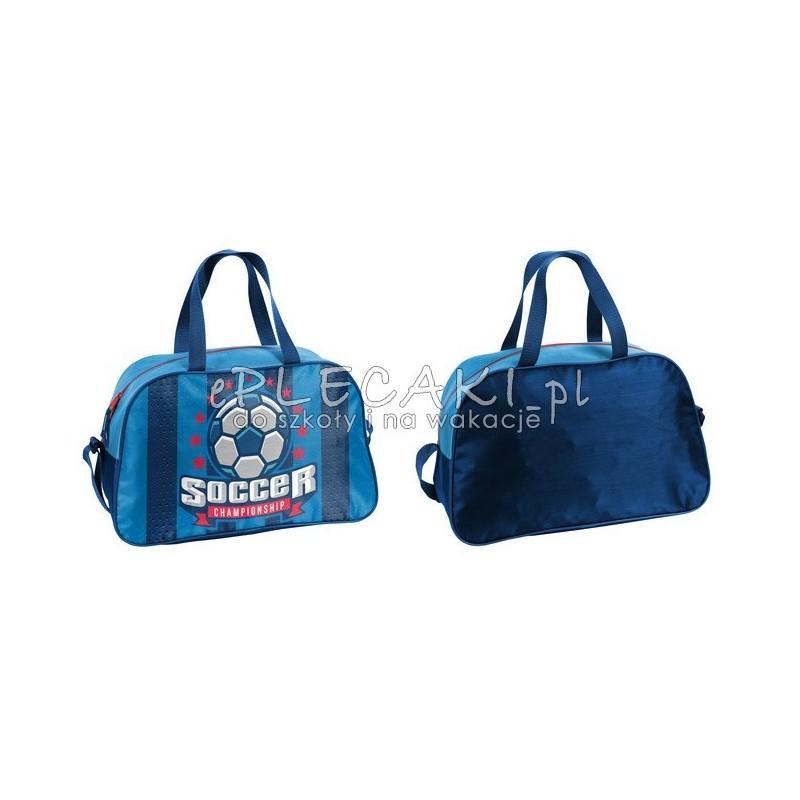 87dc1f1108d52 Torba fitness / sportowa na basen Paso Football niebieska z piłką ...