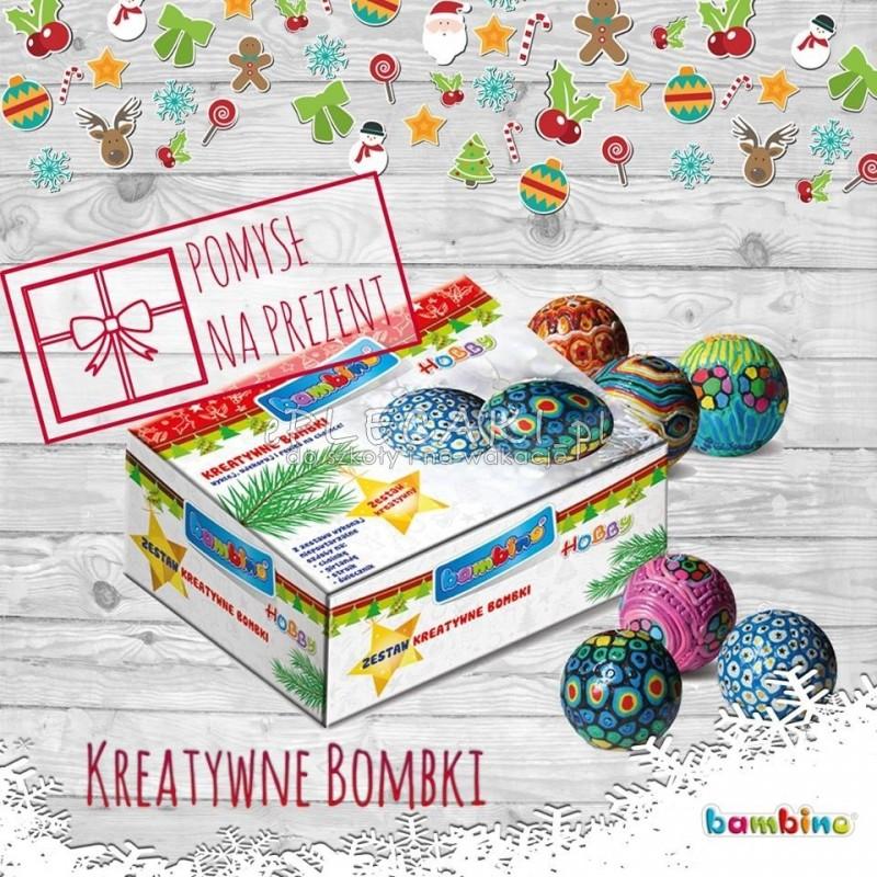 Wszystkie nowe Zestaw kreatywny Bambino Hobby do ozdób świątecznych - kreatywne EU48