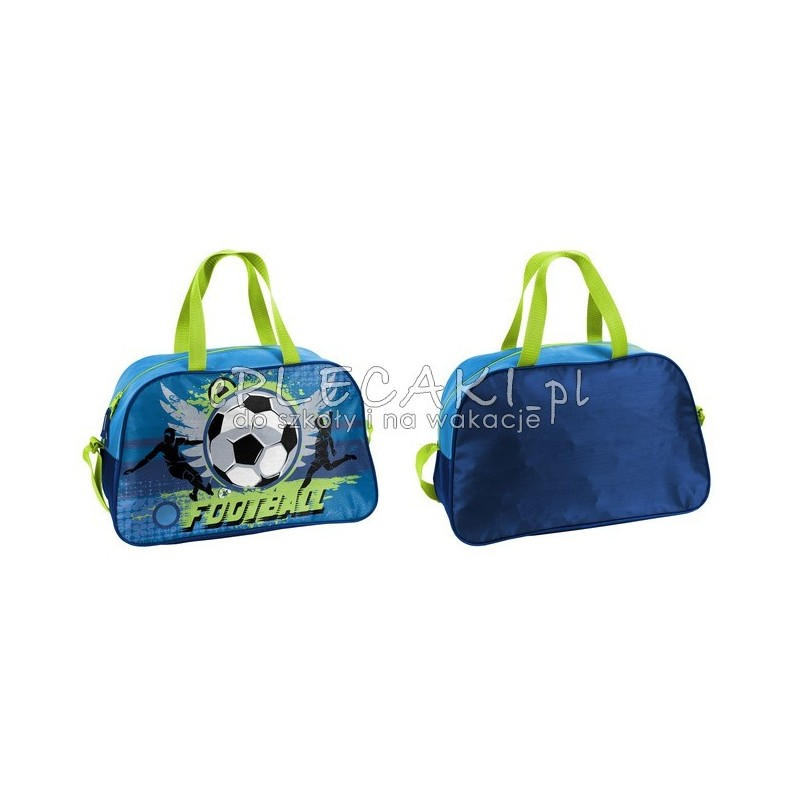 4652578cb153bb Torba fitness / sportowy / na basen Paso Football z piłką nożną ...