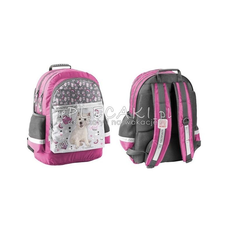 16c34aa516637 Plecak szkolny Rachael Hale z terierem - ePlecaki do szkoły i na wakacje