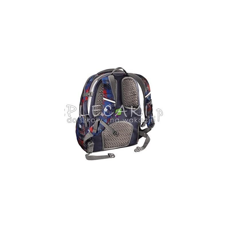 4794f77c82d74 ... Plecak szkolny Dope Square Red Coocazoo JobJobber 2 kwadratowe mazaje -  modny plecak dla chłopaka
