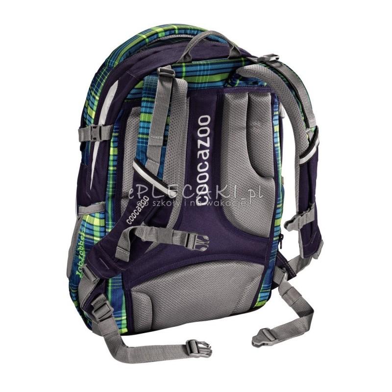 0284ba25e035c Plecak szkolny Walk The Line Lime - Coocazoo Jobjobber 2 - zielona krata.  Kliknij by powiększyć. Poprzedni. Następny