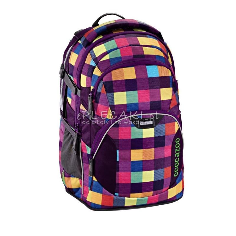 3942941717c2b Plecak szkolny Melange A Trois Pink - Coocazoo JobJobber 2 - pastelowa  kratka