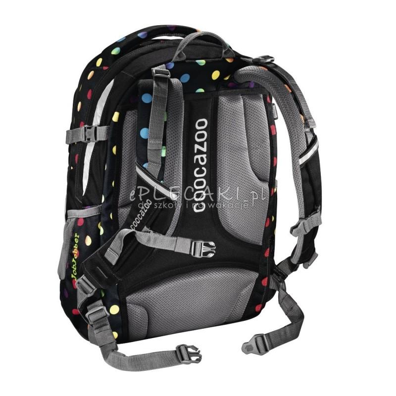 1a0914abdafa6 ... Plecak szkolny Magic Polka Colorful Coocazoo JobJobber 2 czarny w tęczowe  kropki najwyższa jakość plecaków szkolnych ...