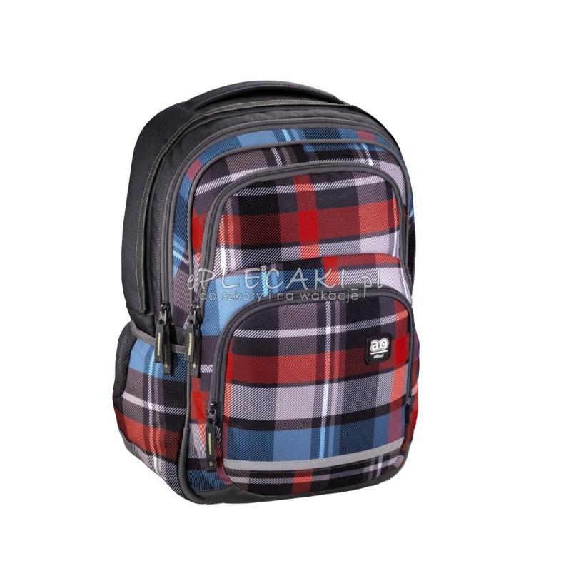 89aa1cb9ae981 Plecak szkolny BLABY kolor: woody grey HAMA - ePlecaki do szkoły i ...