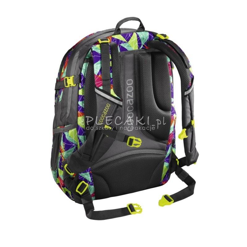 d324d997f7243 ... Plecak szkolny Spiky Pyramid - Coocazoo JobJobber 2 - kolorowe trójkąty  ...