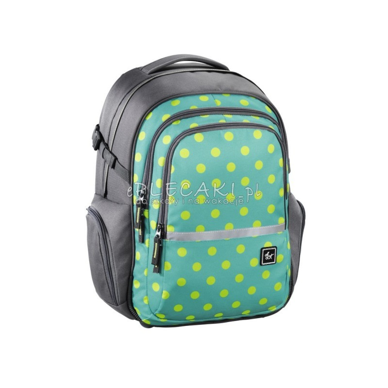 8c0e0722547fc Plecak szkolny FILBY kolor  Mint Dots HAMA - ePlecaki do szkoły i na ...