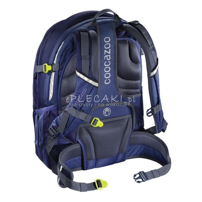 491a10e720ec2 ... Plecak szkolny SOLID Seaman - Coocazoo EvverClevver 2 - niebieski  MatchPatch - solidny plecak szkolny