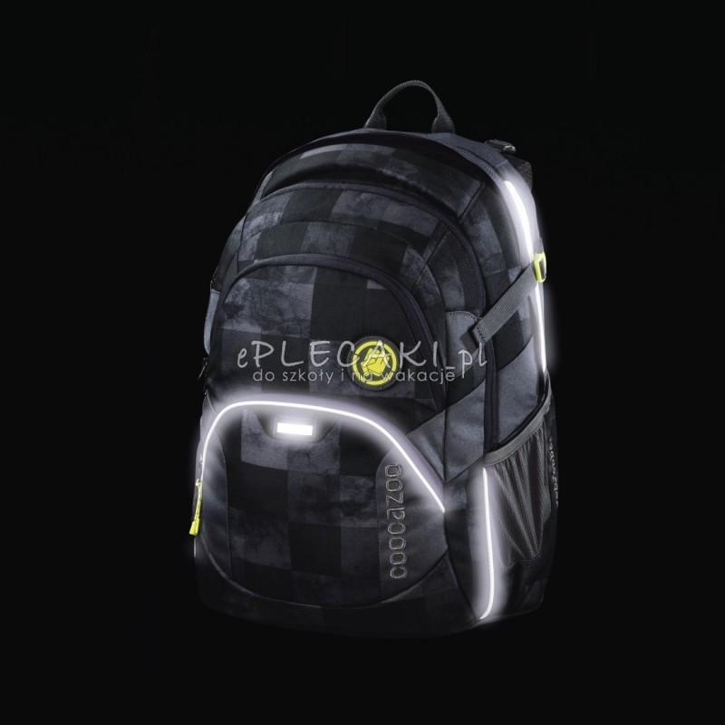 10a531b053366 ... Plecak szkolny Mamor Check - Coocazoo Jobjobber 2 - czarna mozaika -  modne plecaki najwyższej jakości ...