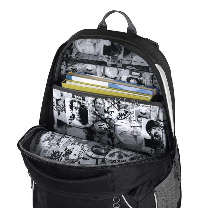 5b9c57d093433 ... Plecak szkolny SOLID Watchman - Coocazoo JobJobber 2 - czarny -  MatchPatch - czarny