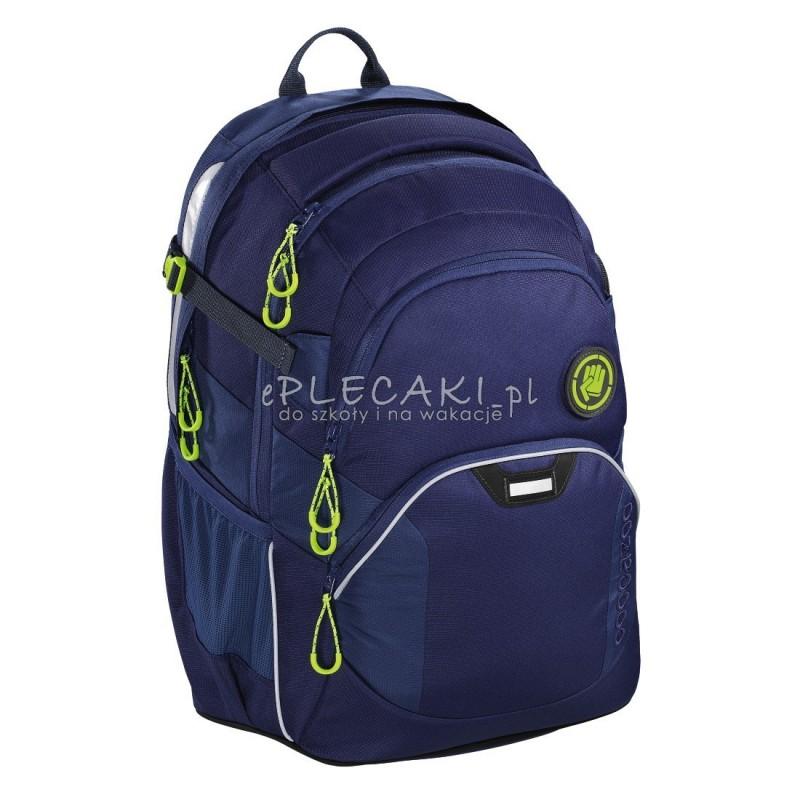 0a4811435349d Plecak szkolny SOLID Seaman - Coocazoo JobJobber 2 - granatowy MatchPatch -  najlepsze plecaki szkolne