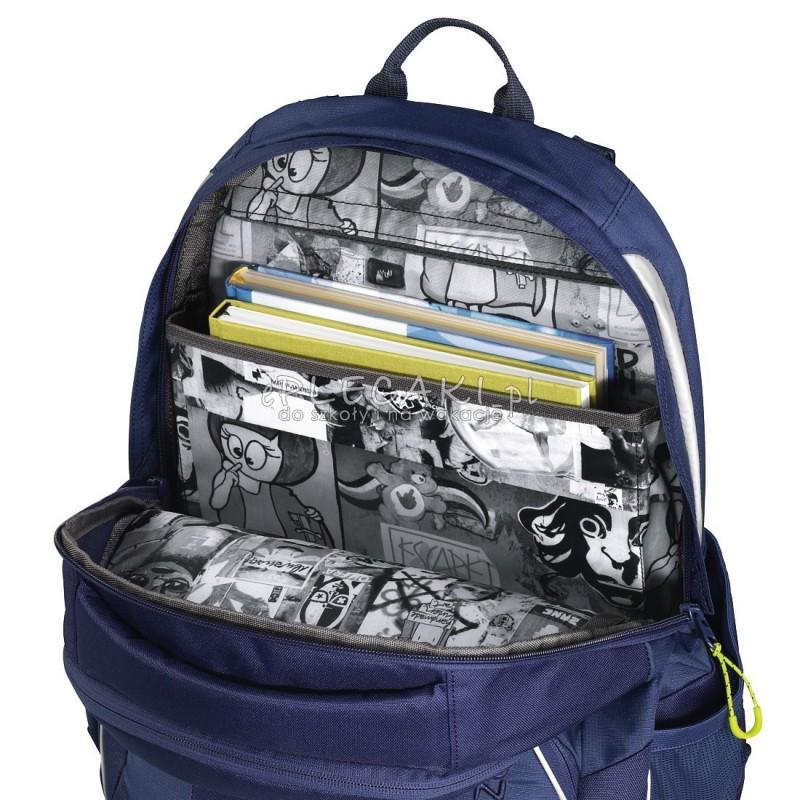 cc961132817d0 ... Plecak szkolny SOLID Seaman - Coocazoo JobJobber 2 - granatowy  MatchPatch - najlepsze plecaki szkolne