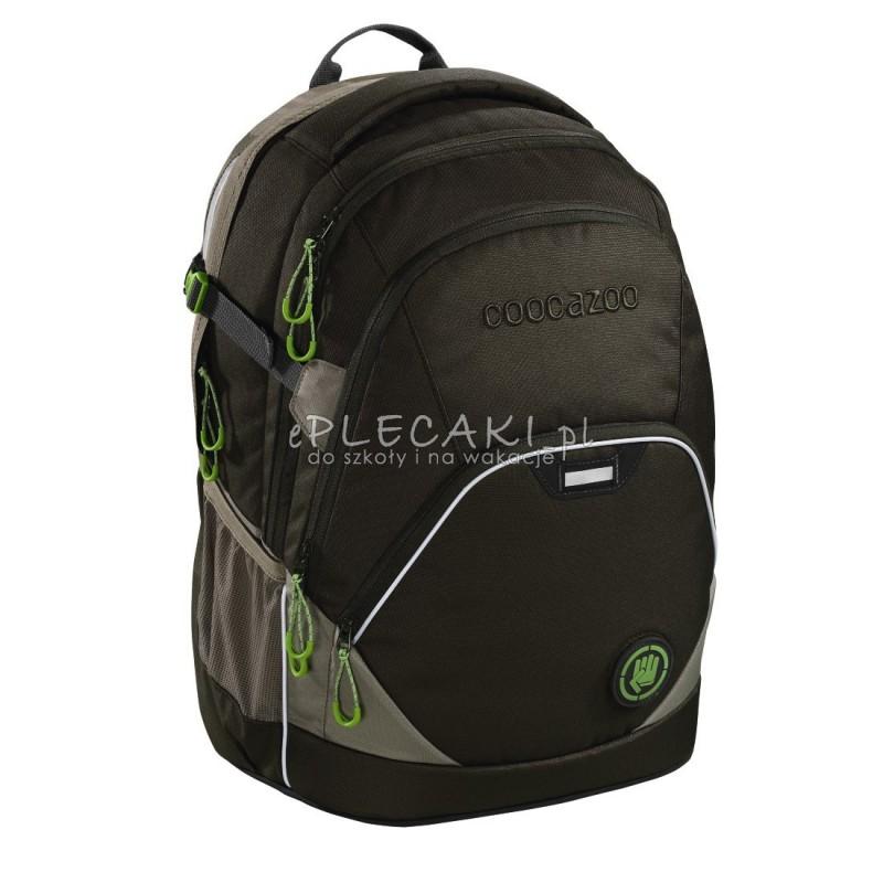 09e4c42514d14 Plecak szkolny SOLID Woodsman - Coocazoo Evverclevver 2 - czarny MatchPatch  - solidny plecak szkolny