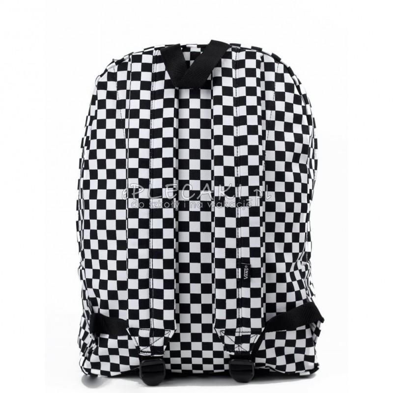 100% wysokiej jakości ceny detaliczne nowy styl życia Plecak miejski Vans Old Skool II Black/White Check czarno ...