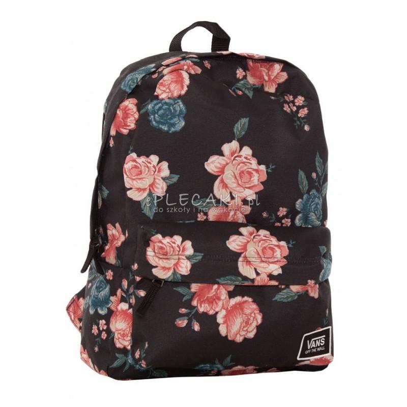 plecak vans damski w kwiaty