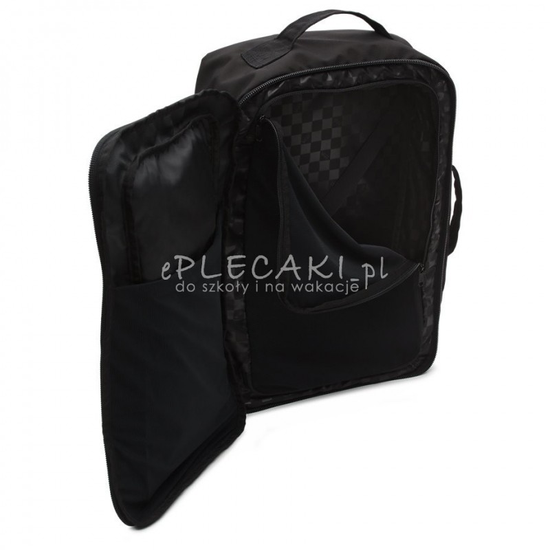 d4ac7528ac947 ... Plecak   torba   walizka miękka VANS FARSIDE Travel Black biznesowa na  laptop ...