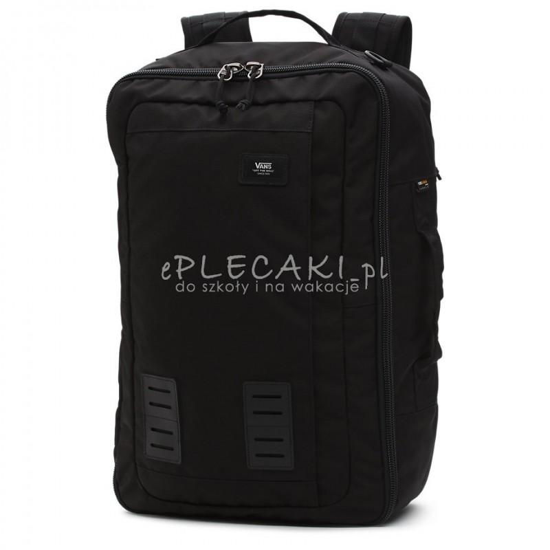 f9e605e0e89c6 Plecak   torba   walizka miękka VANS FARSIDE Travel Black biznesowa na  laptop