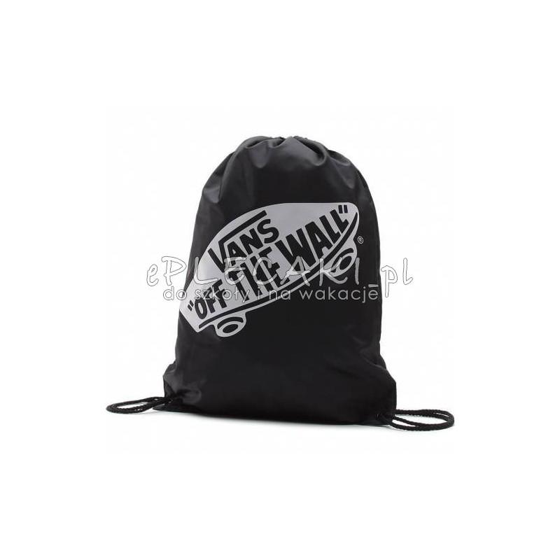 Worek plecak na sznurkach VANS BENCHED BAG Onyx