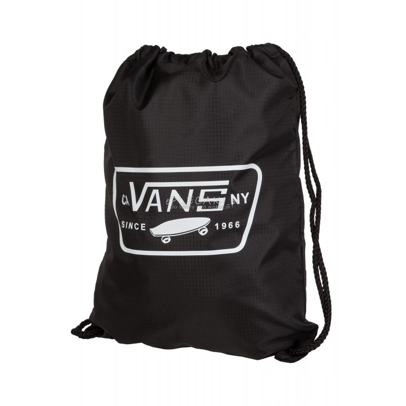 ef6af70fc3de0 Worek / plecak na sznurkach Vans League Bench Bag Black/White