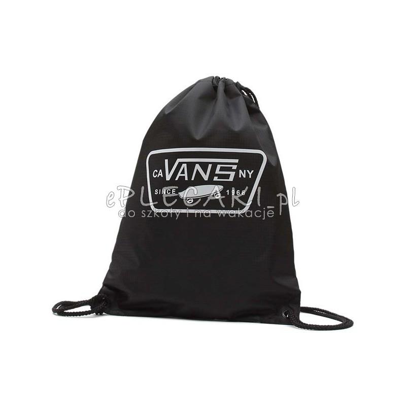 ef6af70fc3de0 Worek / plecak na sznurkach Vans League Bench Bag Black/White