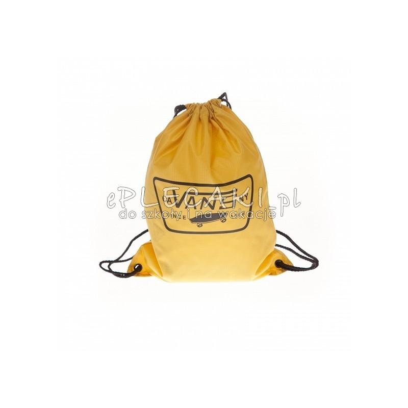 313d8b8e34e53 Worek / plecak na sznurkach Vans League Bench Bag Mineral Yellow