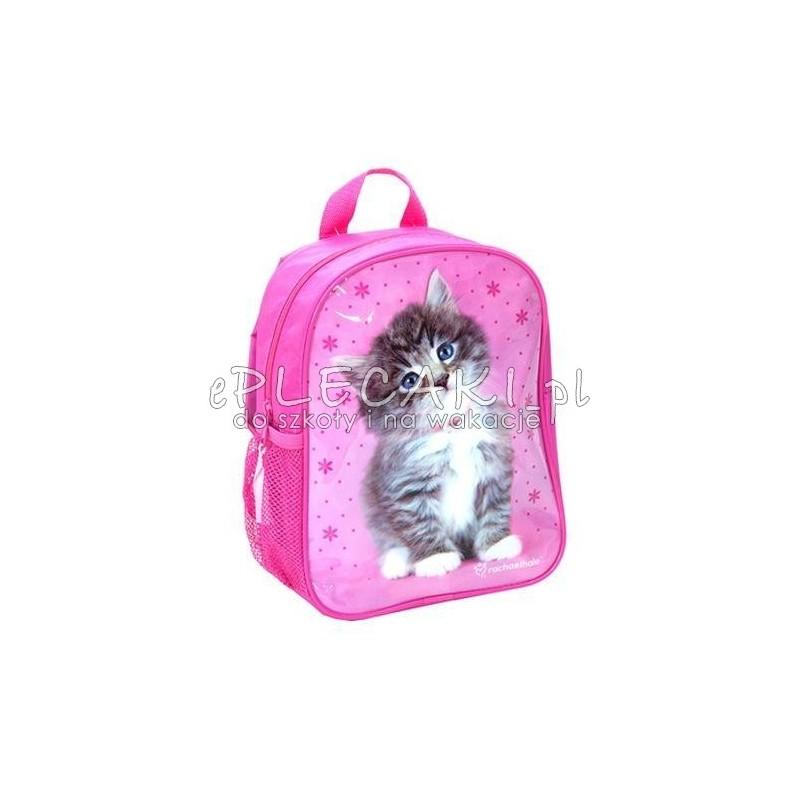 f35179e7b9a2c Plecaczek przedszkolny różowy z kotkiem - ePlecaki do szkoły i na ...