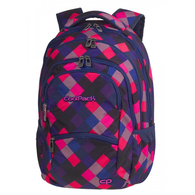 8c49aaa27a9ec Supermodne kostki w jaskrawych kolorach to wzór idealny dla dziewczynki.  Wybierz Coolpack CP Electric Pink