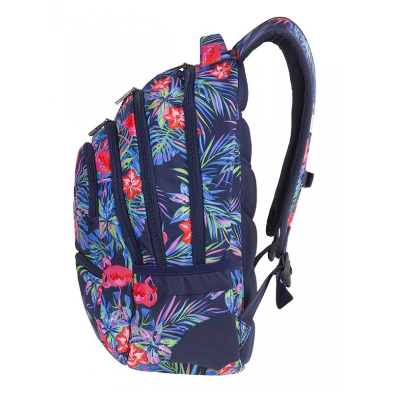 e450ee96caa3e ... Plecak młodzieżowy CoolPack CP PINK FLAMINGO flamingi - 5 przegród - różowe  flamingi dla dziewczynki ...