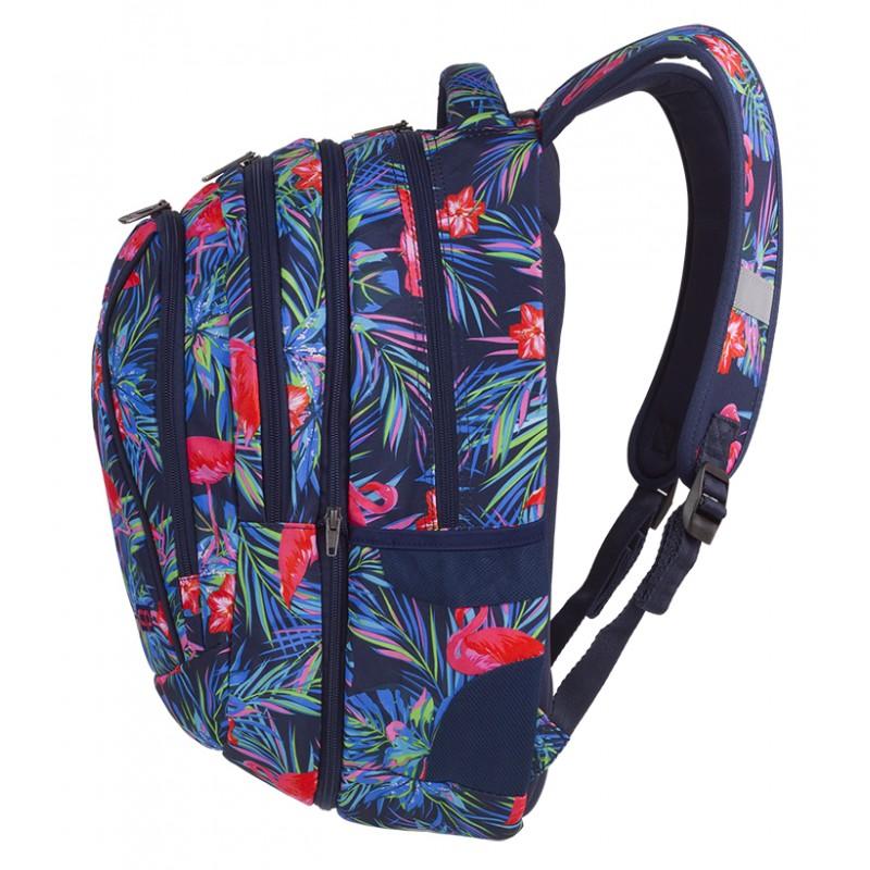 98ffc0a1b6e99 ... Plecak młodzieżowy CoolPack CP COMBO PINK FLAMINGO flamingi - 2w1 - dwa  plecaki w jednym