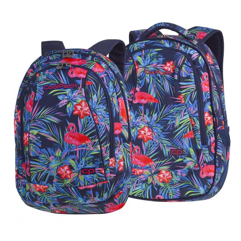 5efe584524a8e Plecak młodzieżowy CoolPack CP COMBO PINK FLAMINGO flamingi - 2w1 - dwa  plecaki w jednym