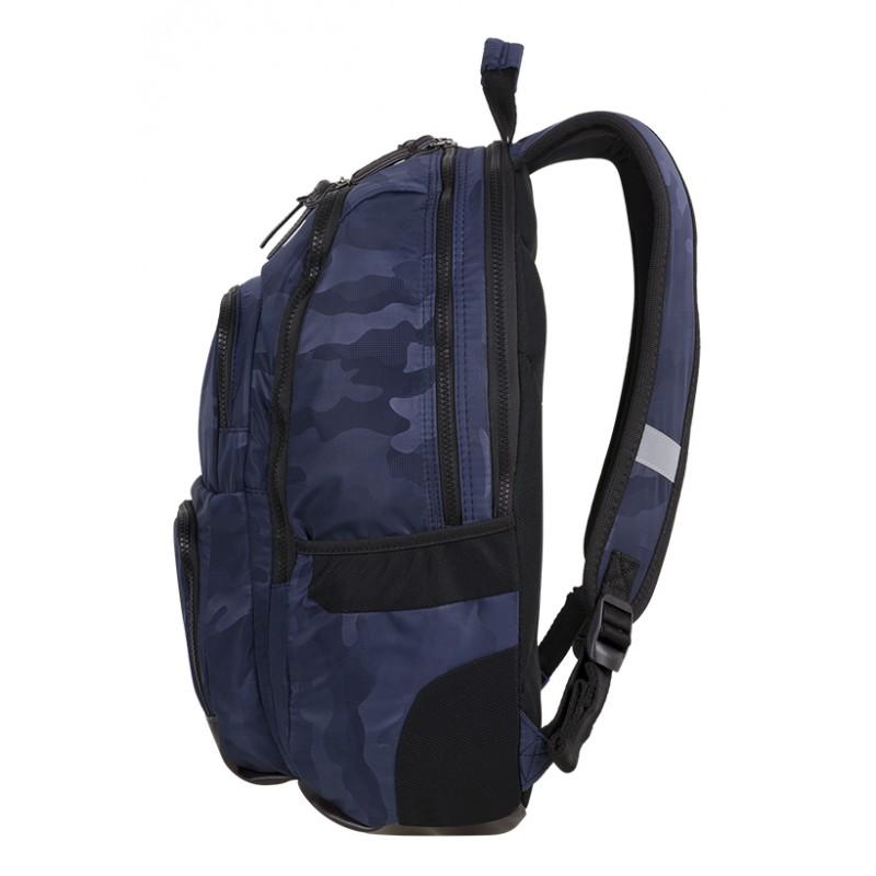 57c1881cfdbfe ... Plecak młodzieżowy CoolPack CP UNIT CAMO NAVY niebieskie moro - plecak  dla chłopaka moro z komorą ...