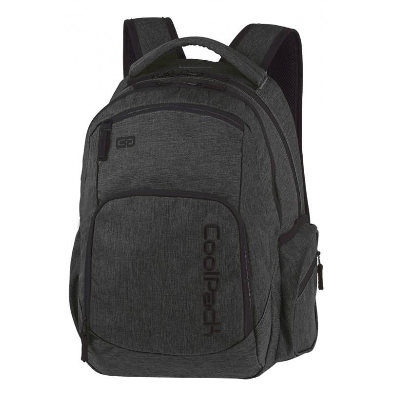 2068ec8ce0c7e Plecak młodzieżowy COOLPACK CP BREAK SNOW BLACK SILVER czarny denim  klasyczny męski czarny plecak dla