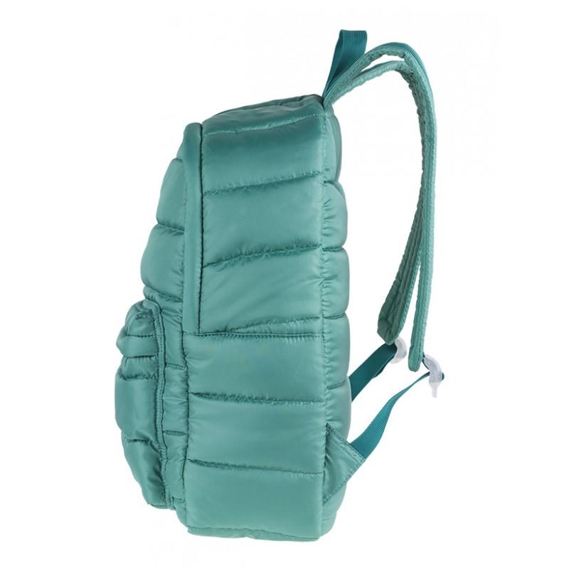 aec6fbbfdbd395 ... Plecak miejski CoolPack CP RUBY GREEN pikowany zielony A105 + GRATIS  puszek pompon, plecak jak ...