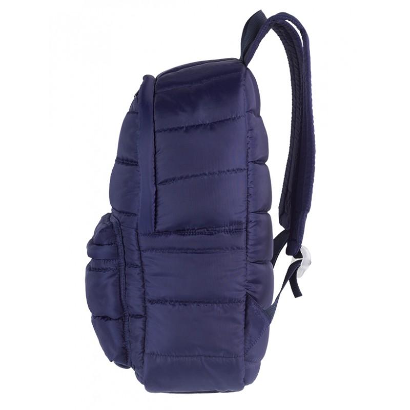 ff6f6019725db7 ... Plecak miejski CoolPack CP RUBY NAVY BLUE pikowany granatowy A107 + GRATIS  zawieszka, puszek, ...