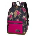 Plecak miejski CoolPack CP GRASP TROPICAL JUNGLE dżungla, plecak w kwiaty dla dziewczyny