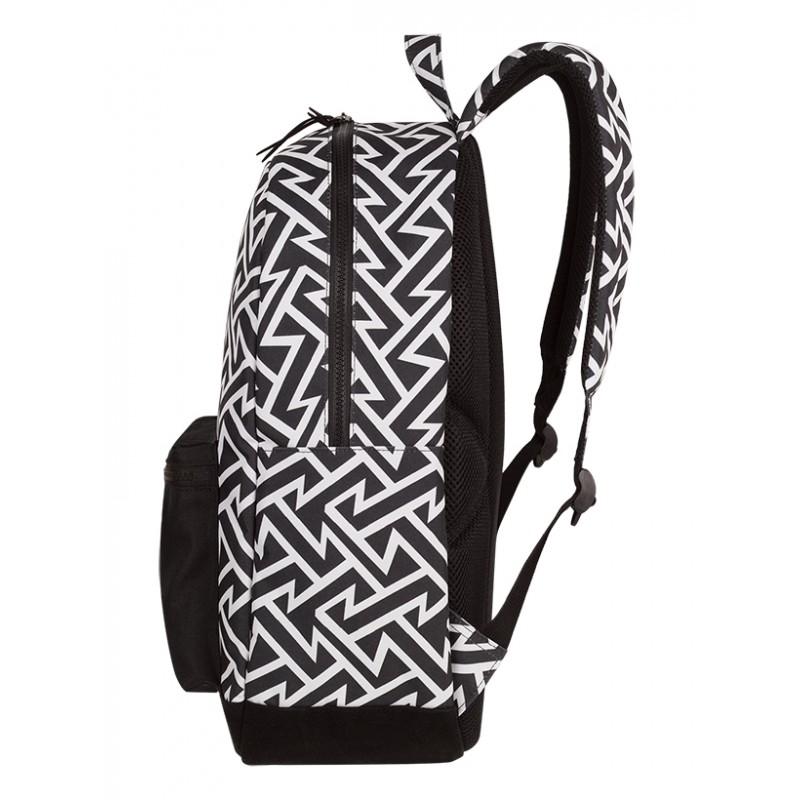 703b54f9a320c ... Plecak miejski CoolPack CP GRASP BLACK & WHITE TRIBAL geometryczne wzory,  czarno biały plecak dla ...