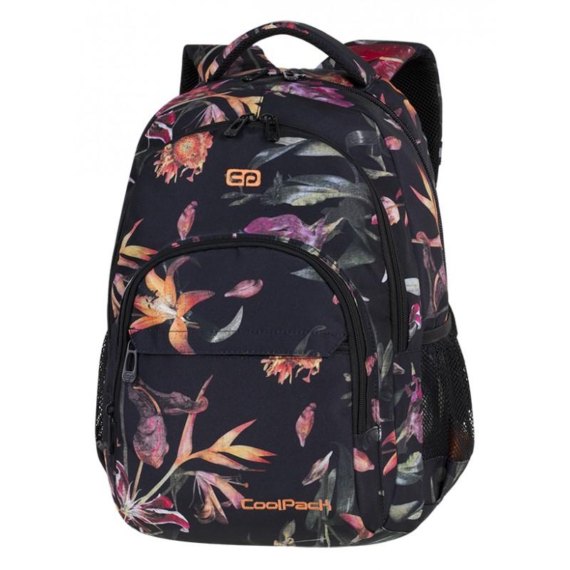 7513c2faa0fe1 Plecak młodzieżowy CoolPack CP BASIC PLUS LILIES kwiaty - plecak w kwiaty  dla wyjątkowej dziewczyny.