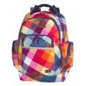Plecak młodzieżowy CoolPack CP BRICK CANDY CHECK kolorowe kwadraty - modny plecak dla młodzieży, plecak w kratkę.