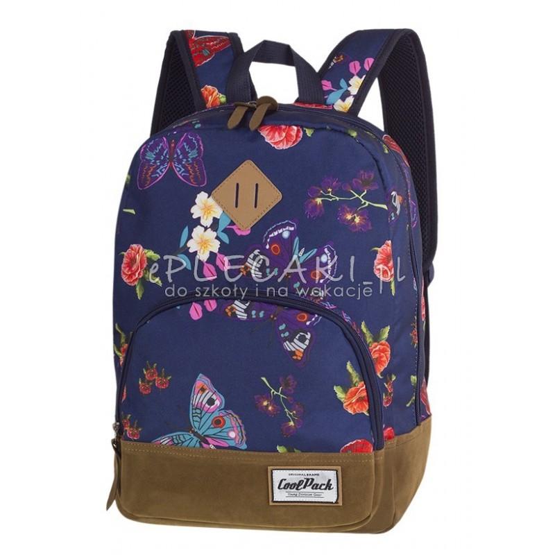 e0a2e11fef35c Plecak miejski CoolPack CP CLASSIC SUMMER DREAM kwiaty i motyle A100 -  plecak wycieczkowy dla dziewczyny