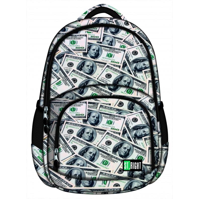 e8d66c49cbe3e ... Plecak młodzieżowy 23 ST.RIGHT DOLLARS dolary BP23 - modny plecak  szkolny, młodzieżowy plecak ...