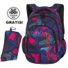Plecak do klas 1-3 CoolPack CP PRIME CRAZY PINK ABSTRACT multicolor - A286 + GRATIS
