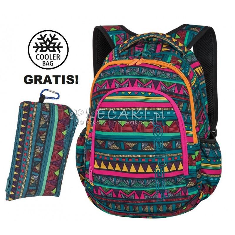 dc9cc7b1bb31d Plecak dla dziewczynki do szkoły klasy 1-3 CoolPack CP PRIME MEXICAN TRIP  aztecki plecak